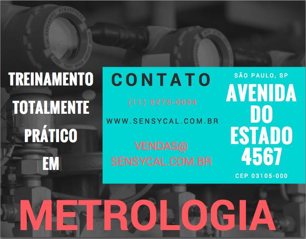 treinamento metrologia